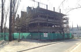 Stav stavby k 17.4.2013