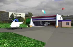 Hangár Leteckej záchrannej služby v Banskej Bystrici