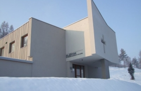 Kaplnka nad vstupom