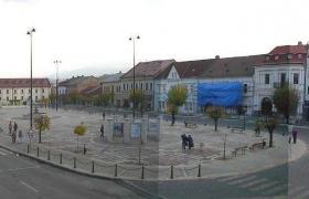 Pohľad z budovy MsÚ