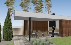 Návrh záhradného altánku