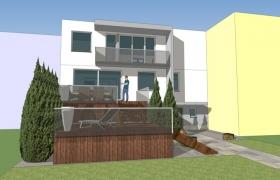 Radový rodinný dom B.Bystrica – rekonštrukcia