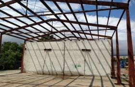 Pôvodné zavetrovacie steny využijeme