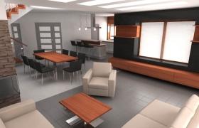 Návrh interiéru od firmy DIZAJNO