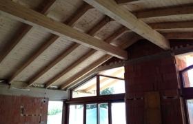 Z výstavby – Strop budúcej obývačky