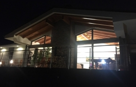 Obývačka za tmy