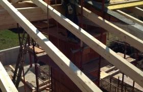 Z výstavby – Konštrukcia krovu