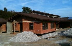 Foto z realizácie hrubej stavby