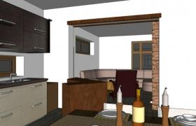 Návrh interiéru2