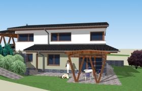 Model domu zo štúdie