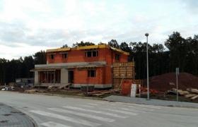 Z výstavby – pohľad od ulice