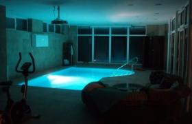 Bazén večer