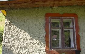 Detail pôvodného okna