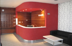 Vstupný vestibul budovy HOLD5