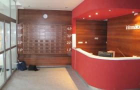 Vstupný vestibul budovy HOLD3