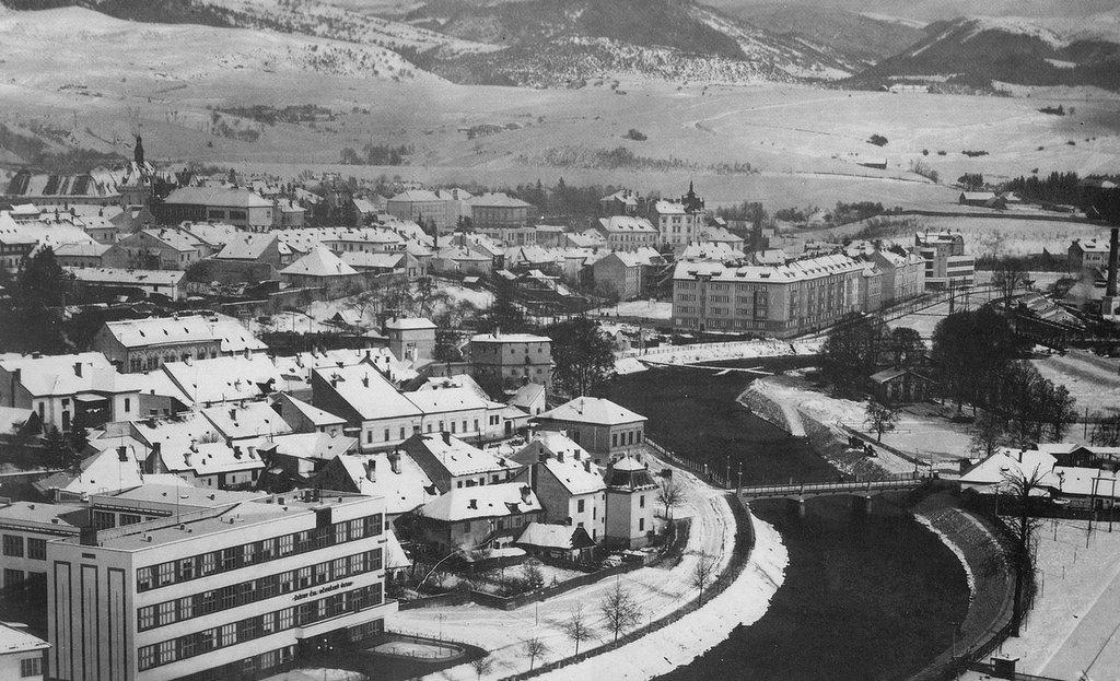 Rok 1936 stare koryto hrona